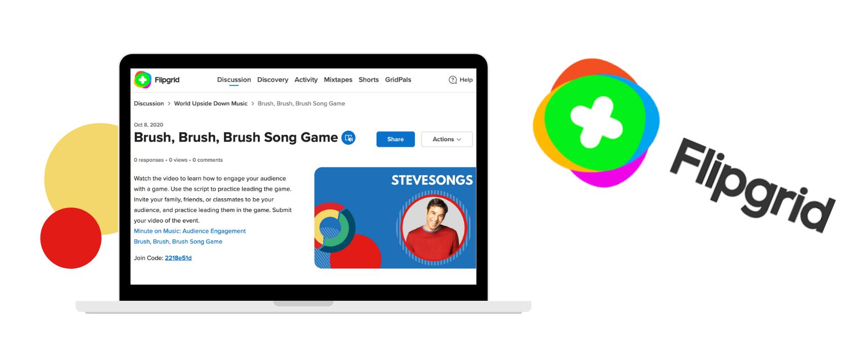 Music teaching apps: Flipgrid