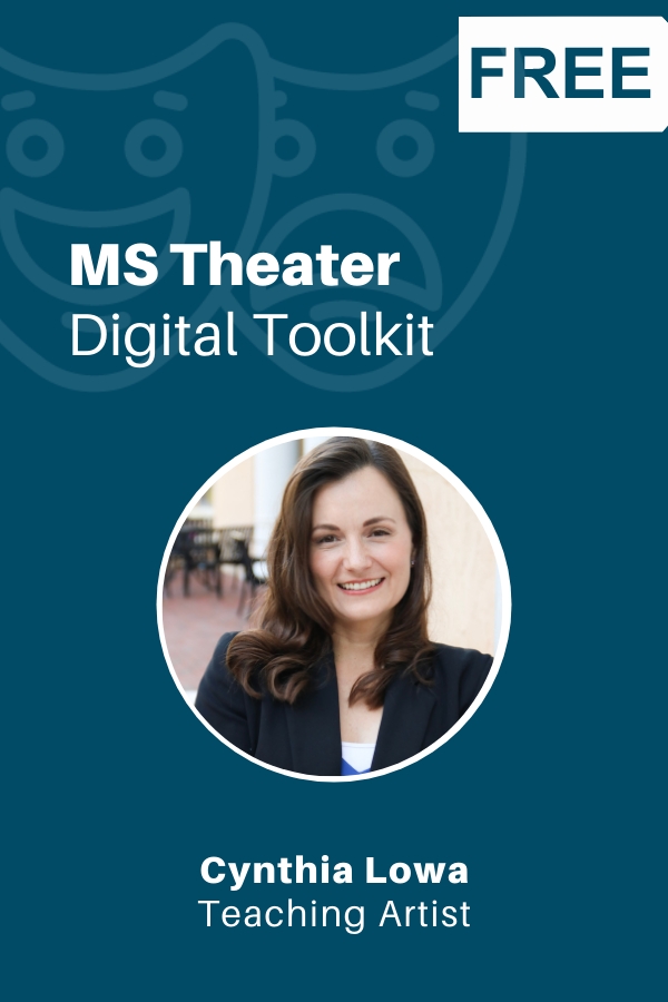 middle school theater digital tool kit