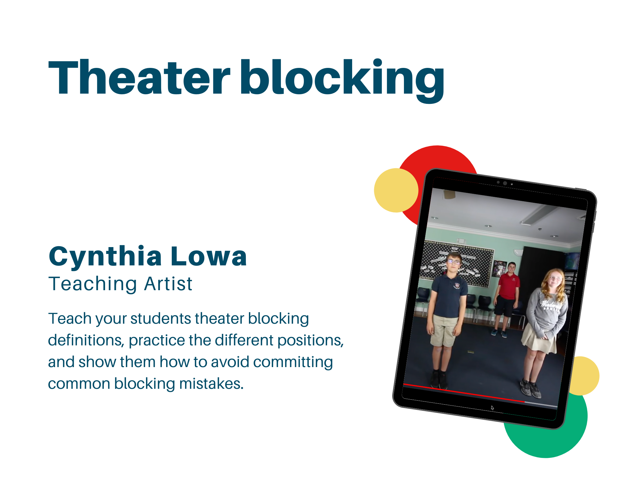 theater blocking