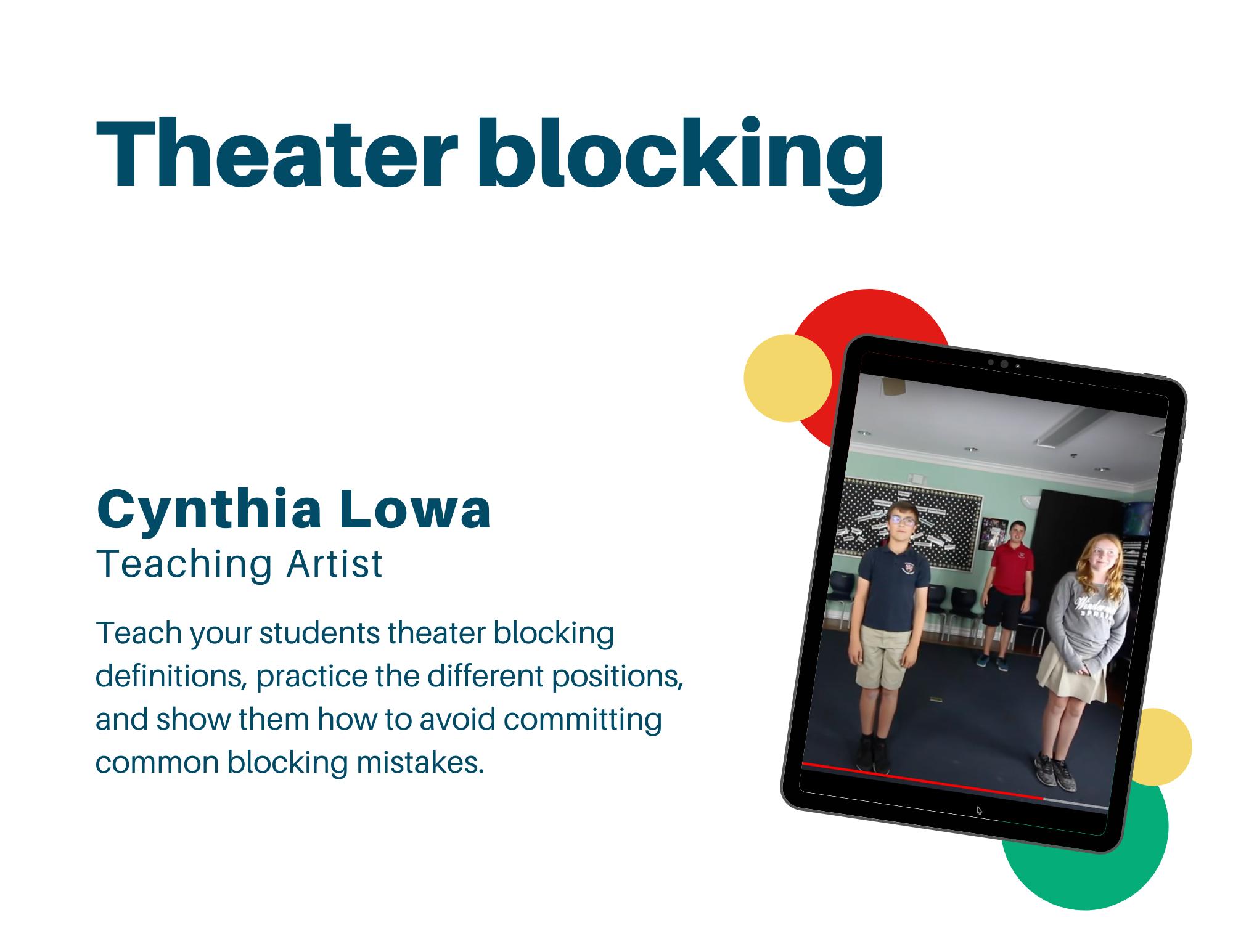 theater blocking