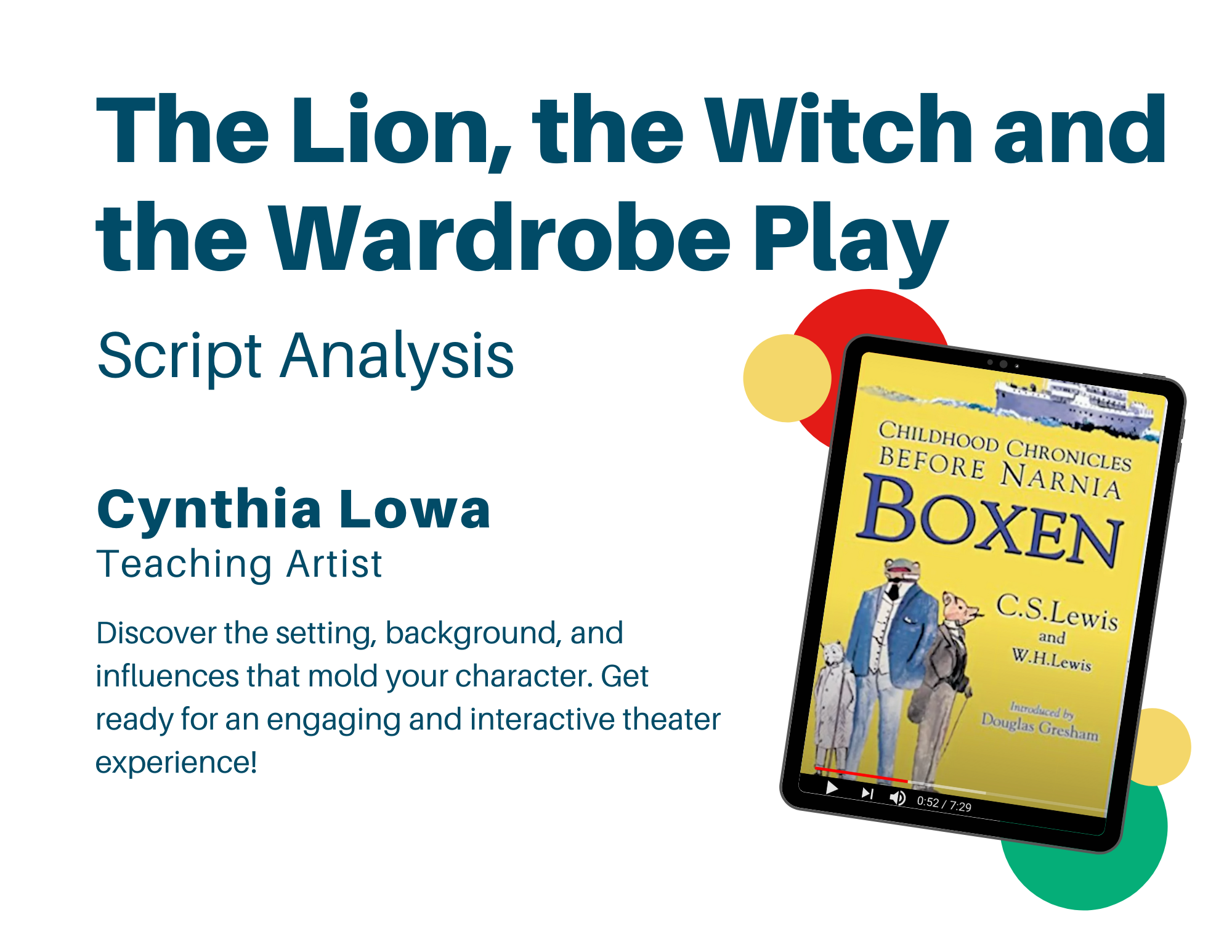 the lion the witch and the wardrobe play